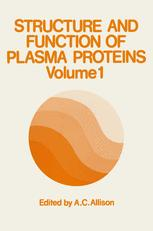Structure and Function of Plasma Proteins