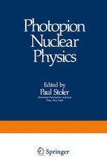 Photopion Nuclear Physics