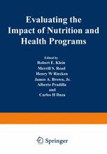 Evaluating the Impact of Nutrition and Health Programs