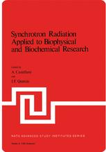 Synchrotron Radiation Applied to Biophysical and Biochemical Research
