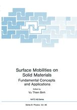 Surface Mobilities on Solid Materials