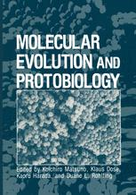 Molecular Evolution and Protobiology