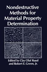 Nondestructive Methods for Material Property Determination
