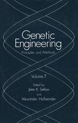Genetic Engineering: Principles and Methods