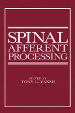 Spinal Afferent Processing