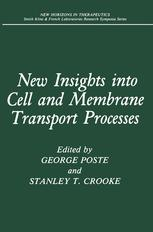 New Insights into Cell and Membrane Transport Processes