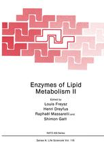 Enzymes of Lipid Metabolism II
