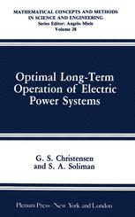 Optimal Long-Term Operation of Electric Power Systems