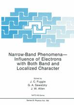 Narrow-Band Phenomena—Influence of Electrons with Both Band and Localized Character