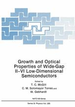 Growth and Optical Properties of Wide-Gap II–VI Low-Dimensional Semiconductors