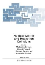 Nuclear Matter and Heavy Ion Collisions