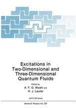 Excitations in Two-Dimensional and Three-Dimensional Quantum Fluids