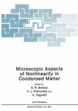 Microscopic Aspects of Nonlinearity in Condensed Matter