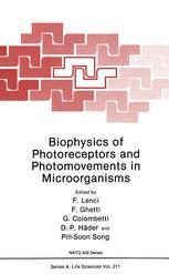 Biophysics of Photoreceptors and Photomovements in Microorganisms