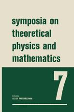 Symposia on Theoretical Physics and Mathematics