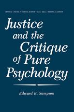Justice and the Critique of Pure Psychology
