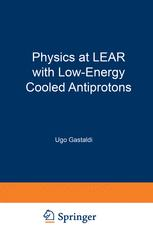 Physics at LEAR with Low-Energy Cooled Antiprotons