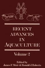 Recent Advances in Aquaculture