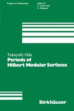 Periods of Hilbert Modular Surfaces