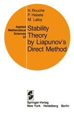 Stability Theory by Liapunov's Direct Method