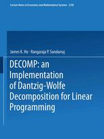 DECOMP: an Implementation of Dantzig-Wolfe Decomposition for Linear Programming