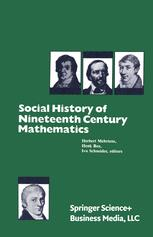 Social History of Nineteenth Century Mathematics