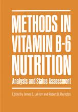 Methods in Vitamin B-6 Nutrition
