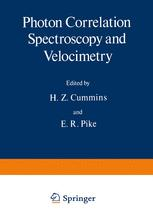 Photon Correlation Spectroscopy and Velocimetry