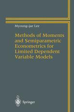 Methods of Moments and Semiparametric Econometrics for Limited Dependent Variable Models