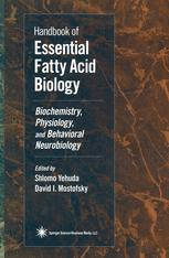 Handbook of Essential Fatty Acid Biology