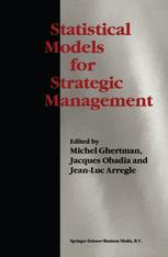 Statistical Models for Strategic Management