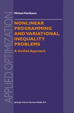 Nonlinear Programming and Variational Inequality Problems
