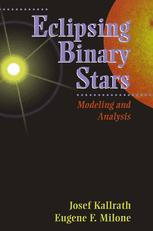 Eclipsing Binary Stars