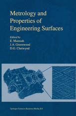 Metrology and Properties of Engineering Surfaces