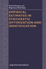 Empirical Estimates in Stochastic Optimization and Identification