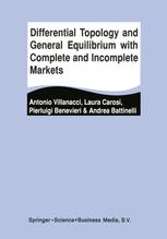 Differential Topology and General Equilibrium with Complete and Incomplete Markets