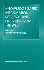 Knowledge-Based Information Retrieval and Filtering from the Web