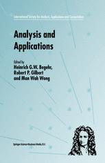 Analysis and Applications — ISAAC 2001