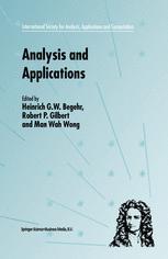Analysis and Applications — ISAAC 2001