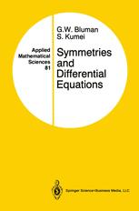 Symmetries and Differential Equations