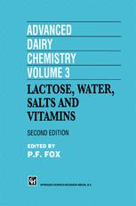 Advanced Dairy Chemistry Volume 3