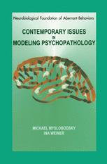 Contemporary Issues in Modeling Psychopathology