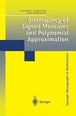 Discrepancy of Signed Measures and Polynomial Approximation