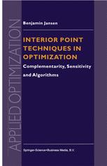 Interior Point Techniques in Optimization