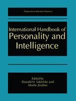 International Handbook of Personality and Intelligence
