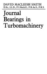 Journal Bearings in Turbomachinery