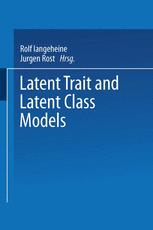 Latent Trait and Latent Class Models