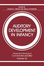 Auditory Development in Infancy