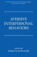 Aversive Interpersonal Behaviors