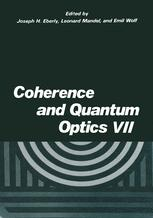 Coherence and Quantum Optics VII